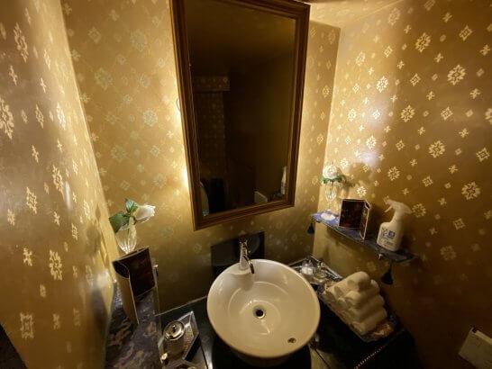 VILLA FOCH 西麻布のトイレ (2)