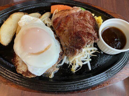 宮崎牛のステーキ、ハンバーグ
