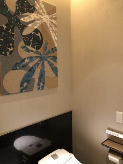 ザ・リッツ・カールトン東京のクラブラウンジのトイレ (1)