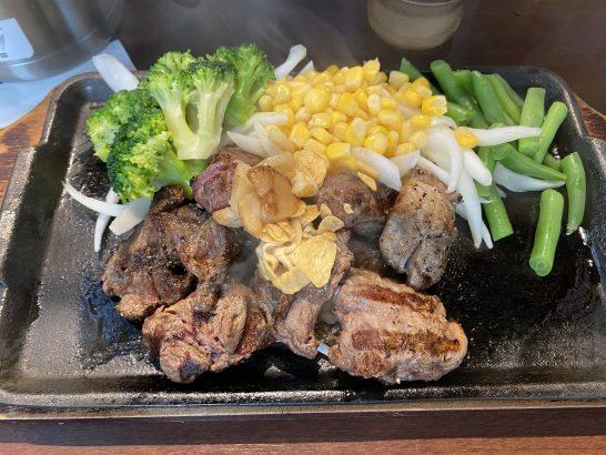 いきなりステーキのランチステーキ