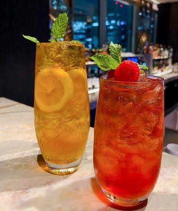PIMMS' LUXURY TEA (Cocktail)、VERY BERRY LUXURY TEA(Mocktail)
