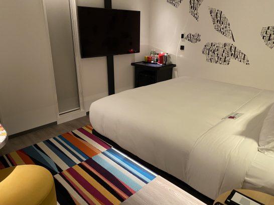 アロフト東京銀座のベッドルーム