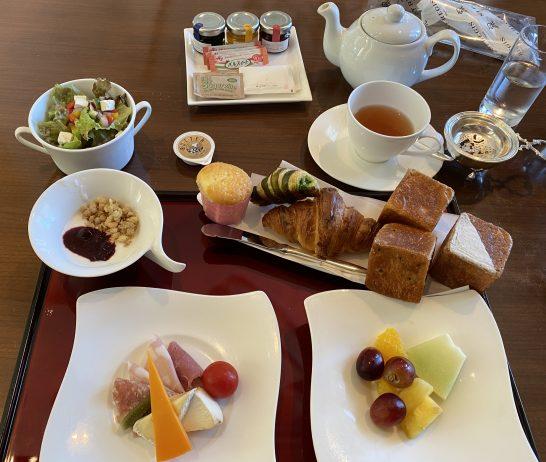 セントレジス大阪の朝食(アメリカン)