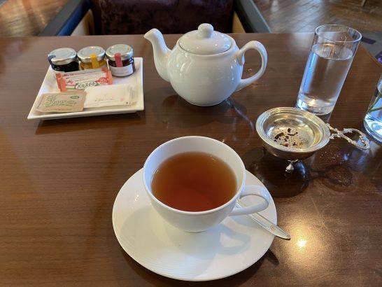セントレジス大阪の朝食の紅茶