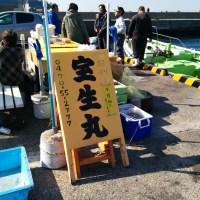 宝生丸のマルイカ釣り