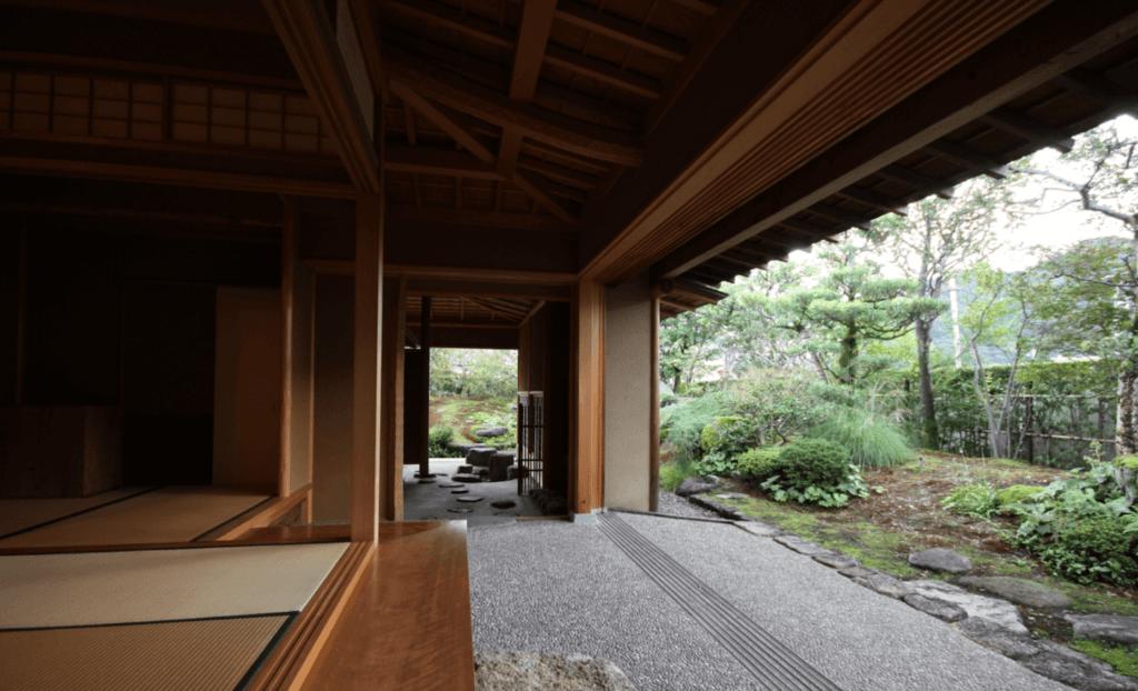 松田工務店による数寄屋造りの建築例