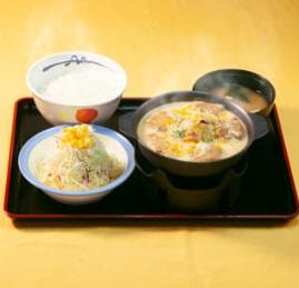 松屋「シュクメルリ鍋定食」2020年1月14日