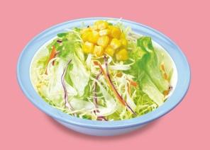 松屋「生野菜」