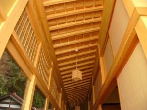 雲樹寺 縁側の天井