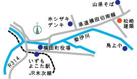 松崎建築 地図