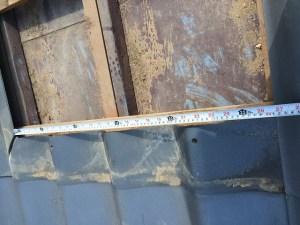 鉄板屋根のカバー工法
