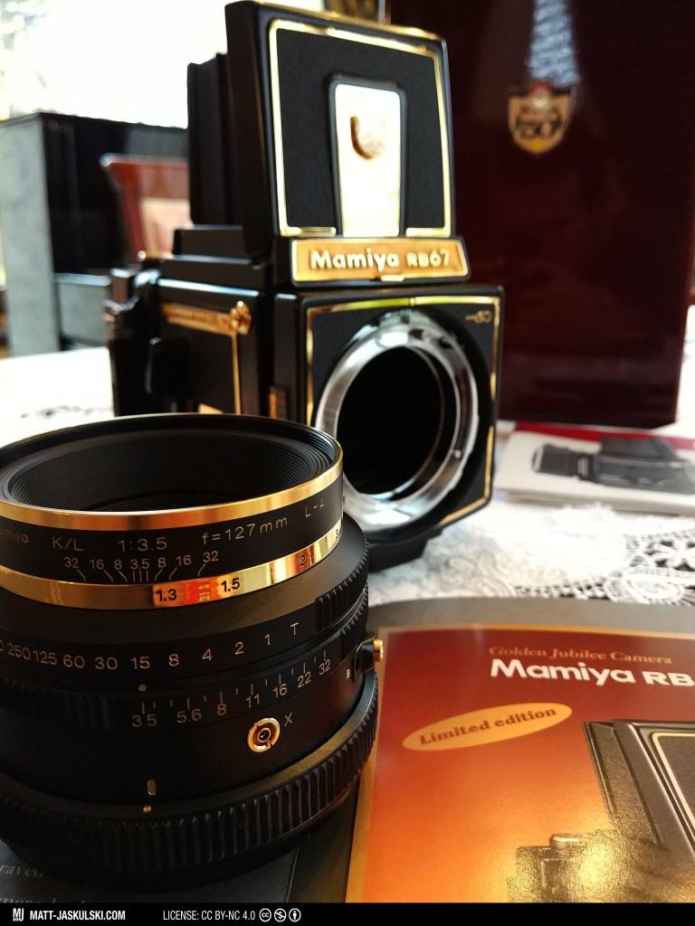 anniversary camera gold mamiya mamiyarb67 mediumformat photography vintagecamera