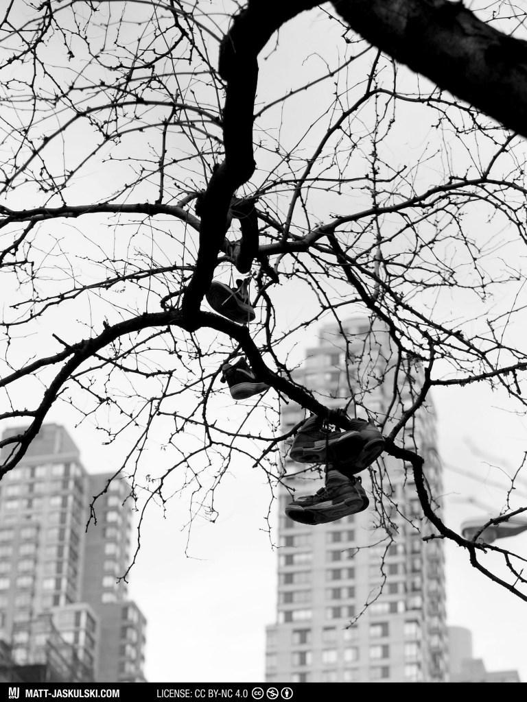 artwork blackandwhite bnw city d800 installation newyork newyorkcity Nikon nikonphotography nyc perspective shoes street streetphoto urban