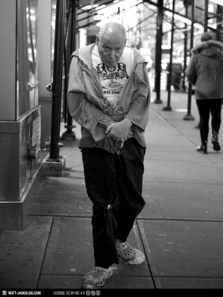 blackandwhite bnw city d800 homeless man newyork newyorkcity Nikon nikonphotography nyc poverty street streetphoto urban