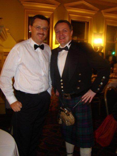 Matt with Super Scot John Dillon