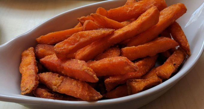 Ada: sweet potato fries