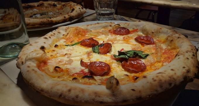 Pizza at Franco Manca