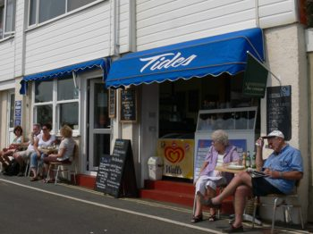 Tides Cafe, Ventnor