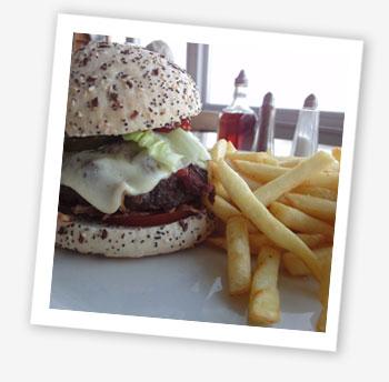 Baywatch Special Gourmet Burger