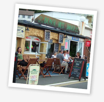 Beach Hut Diner, Ventnor