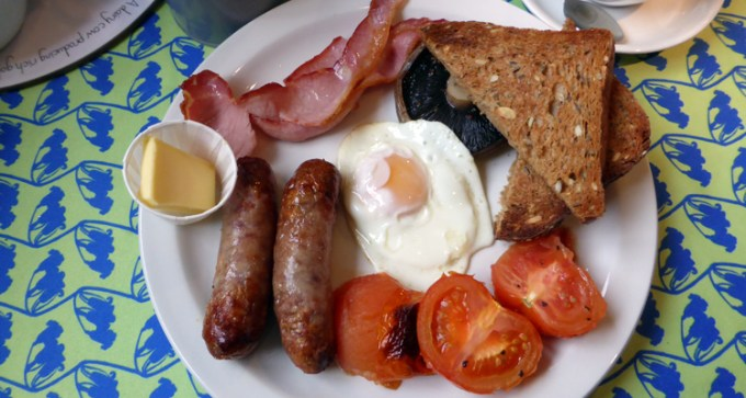 Bluebells Full English breakfast