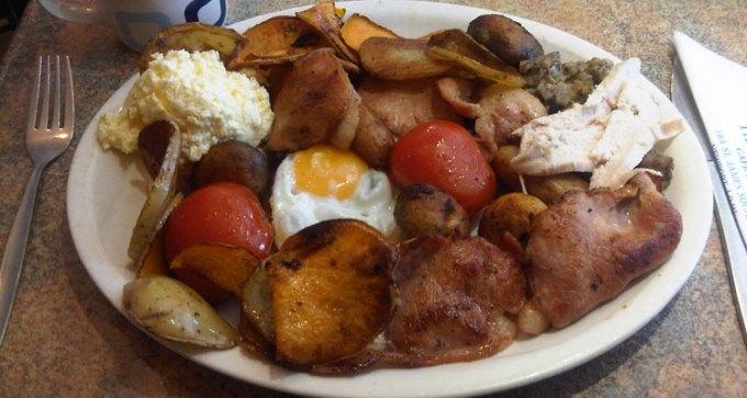 Blue Door Cafe legendary breakfast brunch