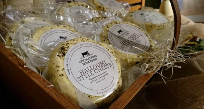 Halloumi-style cheese