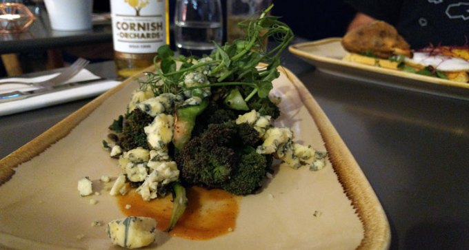 Harbour & Browns: broccoli and blue cheese