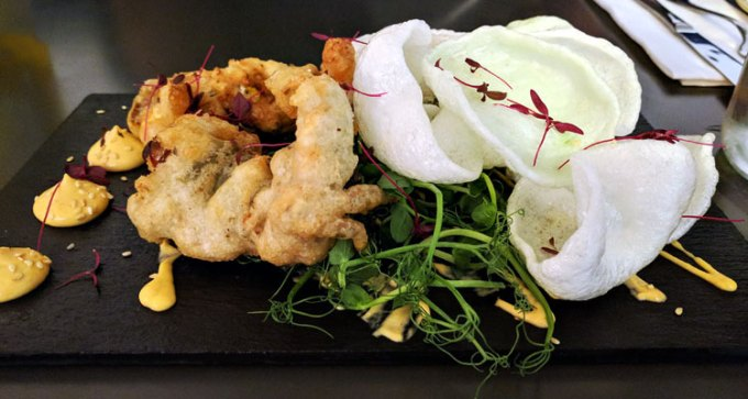 Harbour & Browns: soft-shell crab