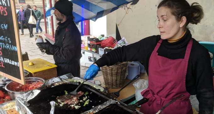 St Nicholas street food market: Tia Julia - prato feito