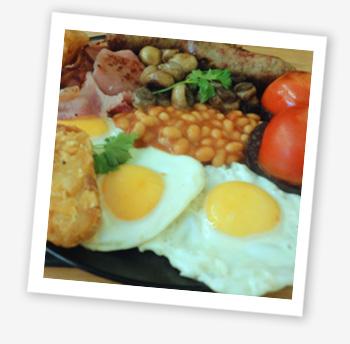 Café 44, Carisbrooke, breakfast