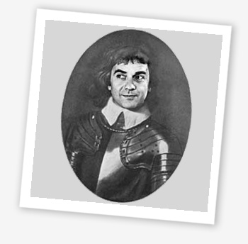 Dudley Moore as Oliver Cromwell