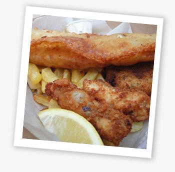 Fabulous Fish Box. Catch, Yarmouth