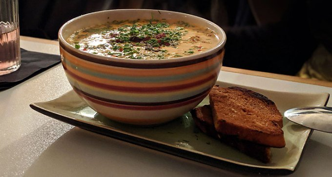 Three-fish Louisiana chowder