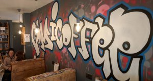Comicoffee mural
