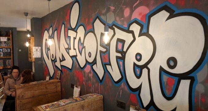 Comicoffee mural