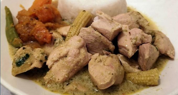 Thai green chicken