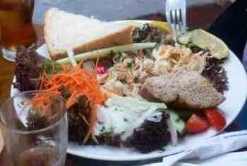 Crab salad, The Spyglass, Ventnor