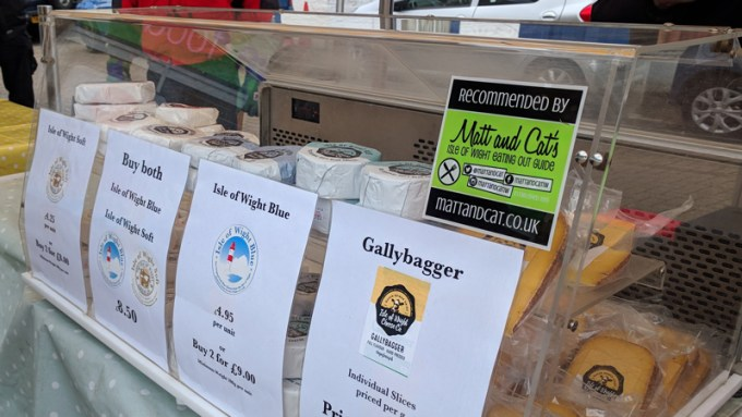 We're delighted to recommend IW Cheese Company