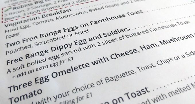 Free range dippy egg