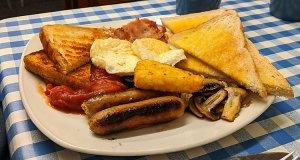 Extra large breakfast