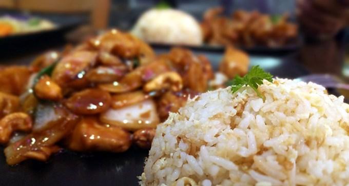Chicken, cashew nut, yellow bean sauce