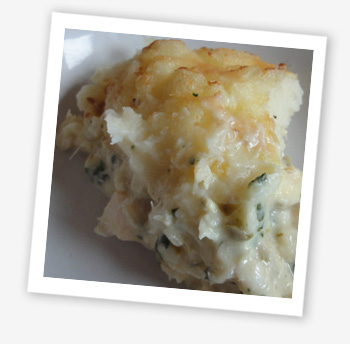 Wight Fish Pie