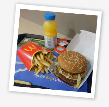 Want another picture of the Big Mac meal? Here it is!