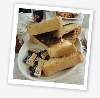 Toast stack