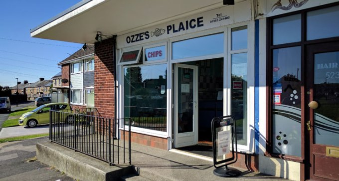 Ozze's Plaice