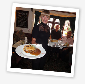 Landlady Rachel Burrows. Isle of Wight Dish: Newchurch Pie