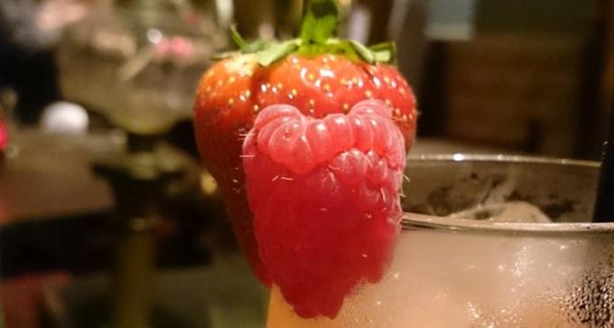 Fruity 'Mermaid's Sunset' mocktail