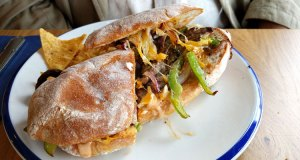 El Cubano, steak ciabatta