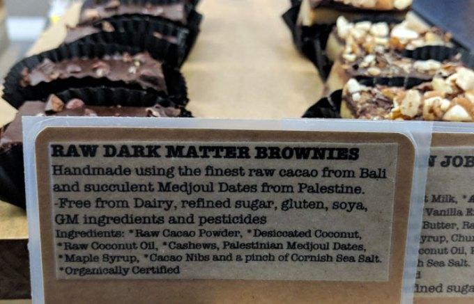 Society Cafe: dark matter